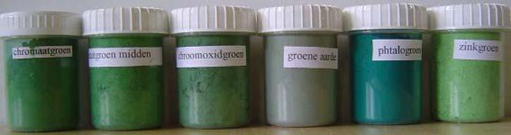 Groene pigmenten