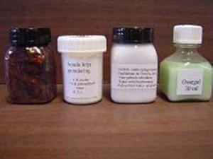 materialen bladgoud-mixtion-koude krijtgrond
