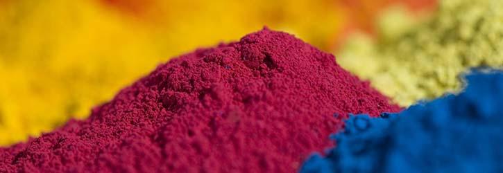 pigmenten en kleurstoffen