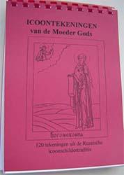 boek Icoontekeningen Moeder Gods